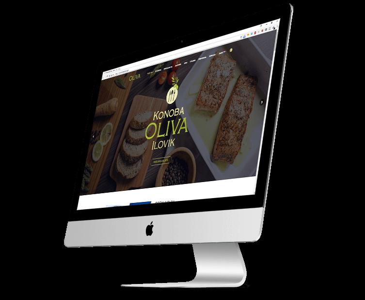 web stranica za restoran