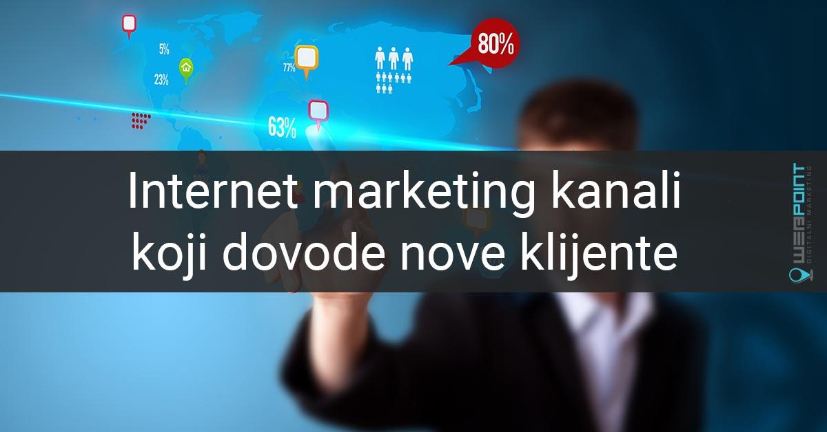 internet marketing kanali
