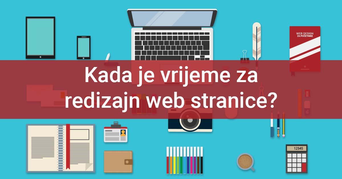 Redizajn web stranica