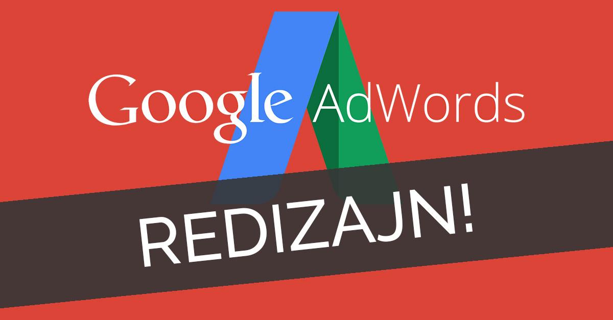 google adwords redizajn