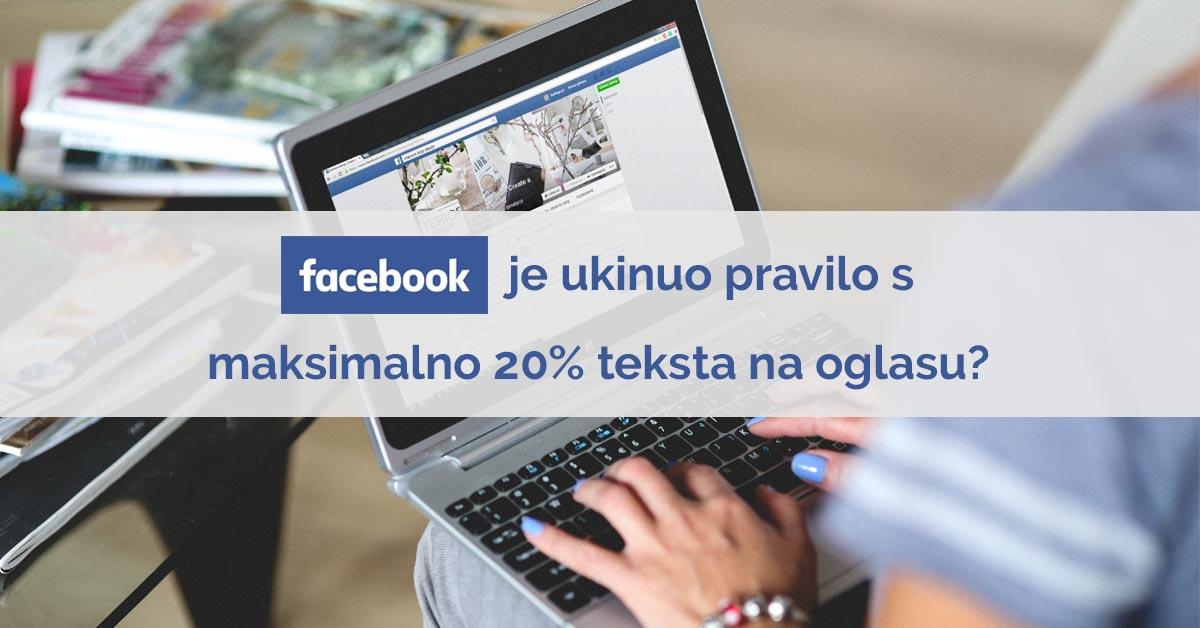 Facebook oglasavanje nova pravila
