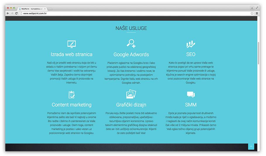 izrada web stranica-kategorije
