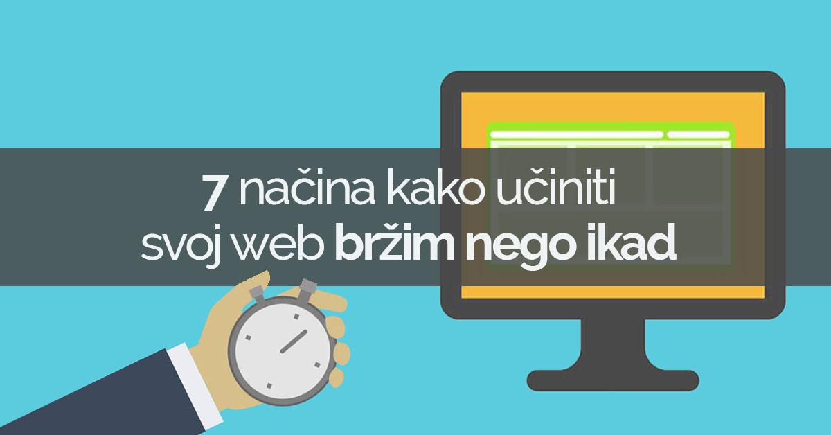 Učinite svoj wordpress web bržim nego ikad
