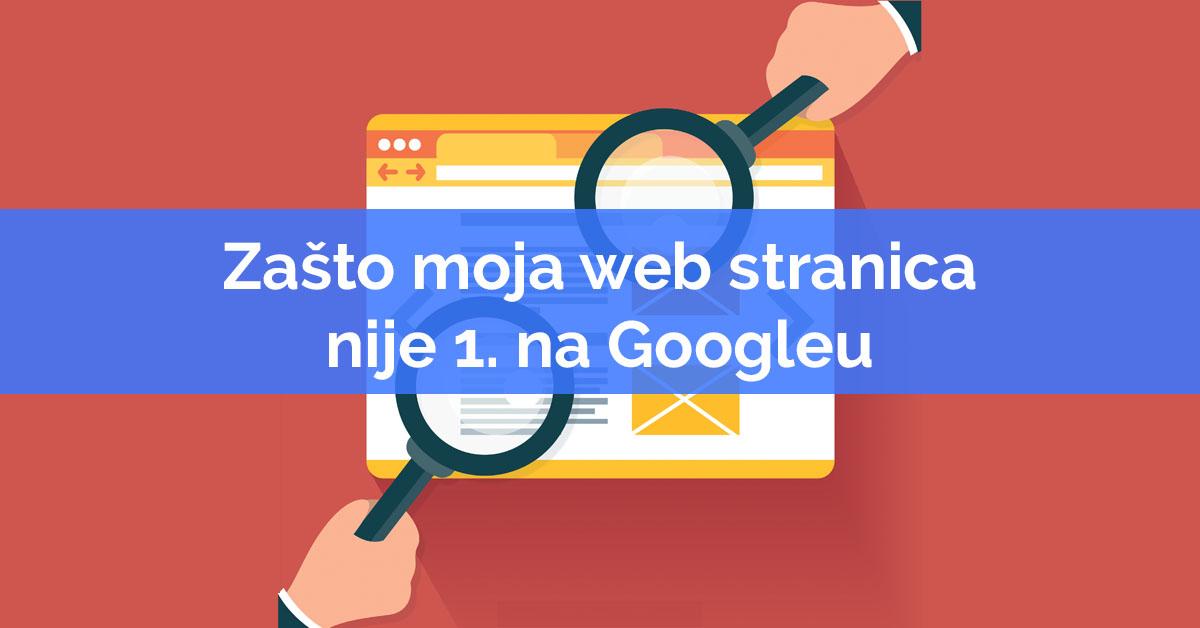 SEO optimizacija web stranica