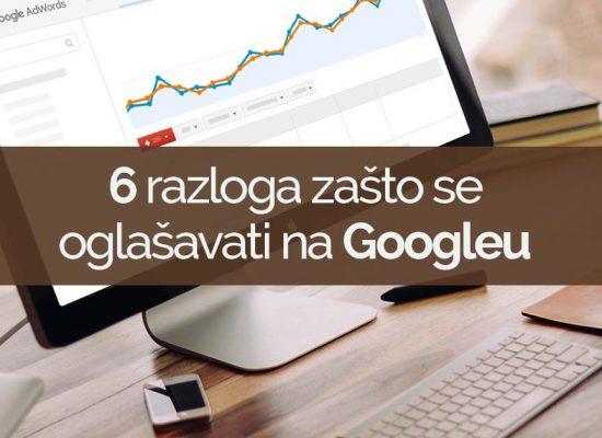 oglasavanje tvrtke na googleu