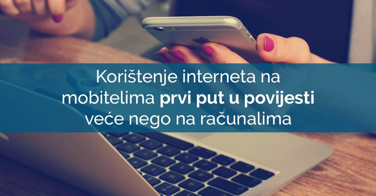 web stranice na mobitelu