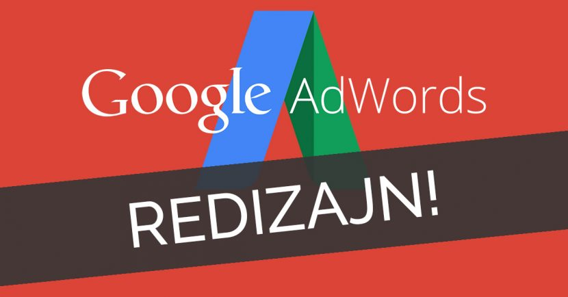 google adwords redizajn