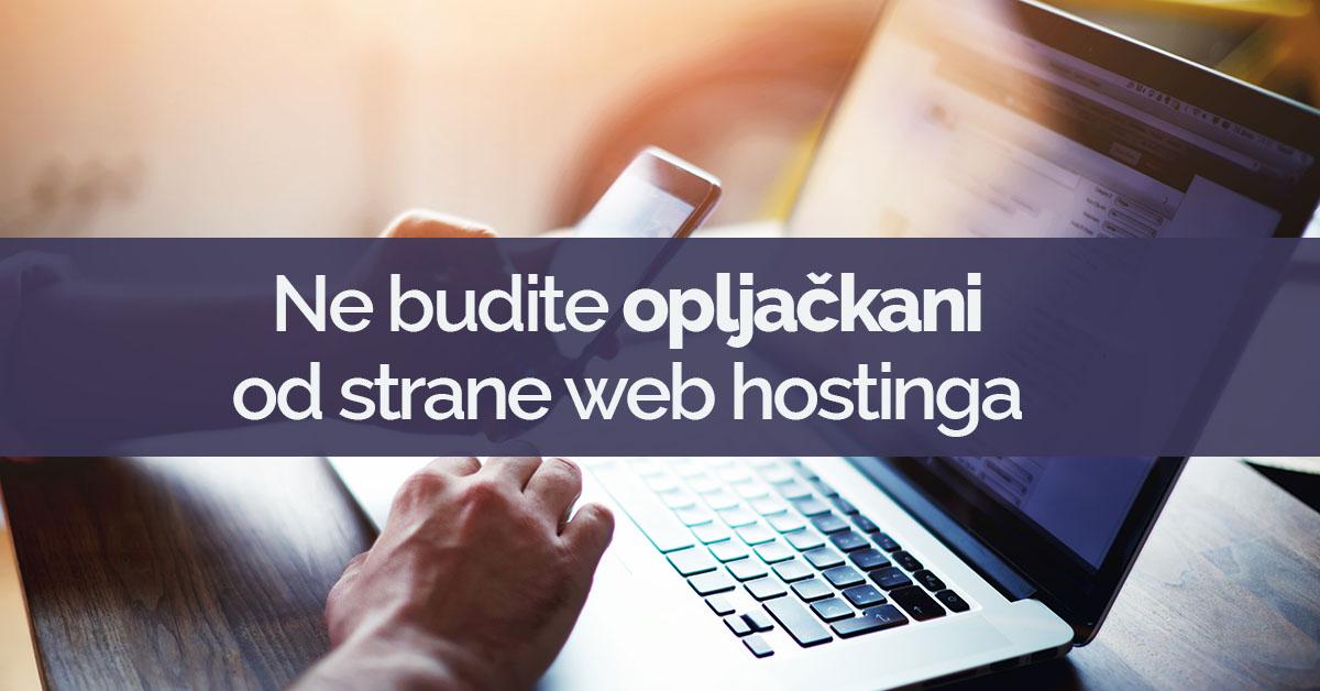 usluge web hostinga