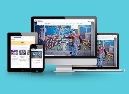 Umjetnicka web stranica