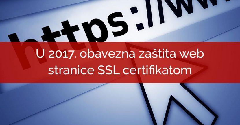 zastita web stranica ssl certifikat