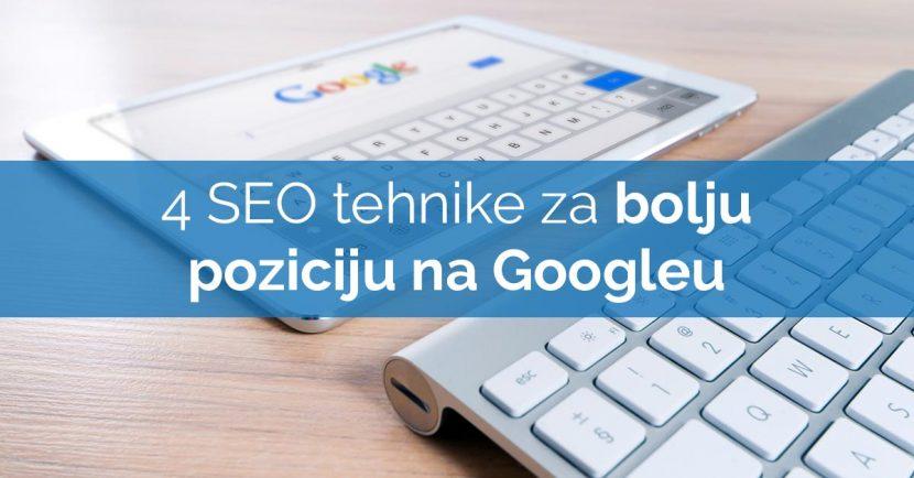 SEO web stranica google